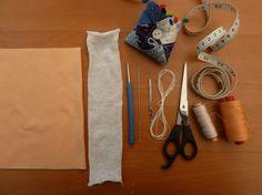 Nähanleitung für eine Waldorfpuppe Teil 4: der Kopf via blog.bernina.com #meineBERNINA