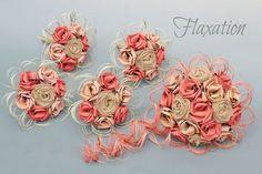 www.flaxation.co.nz Rustic flax bouquets