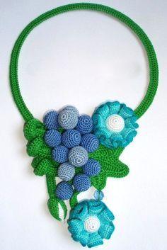 Original crochet jewelry ♡ by Tatiana Potemkina | Beads Magic