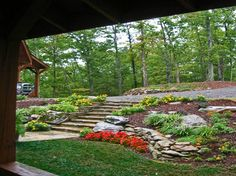39 best sloped hillside landscaping ideas images landscaping rh pinterest com