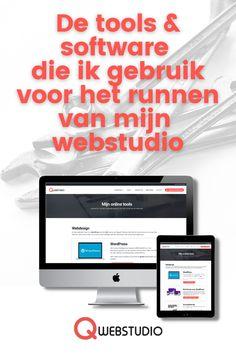 Voor het runnen van een online bedrijf heb je natuurlijk software en online tools nodig. Door de jaren heen heb ik er verschillende getest en gebruikt, met wisselend succes. Graag deel ik met jou de tools waar ik dagelijks profijt van heb voor het runnen van mijn webstudio #onlinetools #divi #learndash Software, Logitech, Tool Box, Wordpress, Photoshop, Phone, Stuff Stuff, Telephone, Toolbox