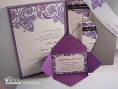 Classic Elegance Wedding Invitations and Wedding Essentials