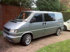 Silver VW T4