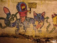 Discover Sicily: Palermo graffiti at night. Palermo, Sicily, Cool Places To Visit, Graffiti, Museum, Europe, Night, Painting, Painting Art