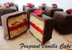 Simply The Best Review and Raw Vanilla Raspberry Rose Cake Bites Recipe | Fragrant Vanilla Cake