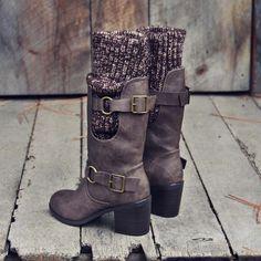 Laurel & Arrow Sweater Boots