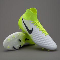 on sale dadbf af10f Nike Magista Orden II FG - Mens Boots - Firm Ground - 843812-109 - White  Black Volt
