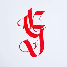 Letter G by Igor Sturion: http://calligraphymasters.com/fraktur-capitals-calligraphy-alphabet-by-igor-sturion/ https://www.instagram.com/igorsturion/