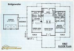 Log Home Design Plan and Kits for Bridgewater