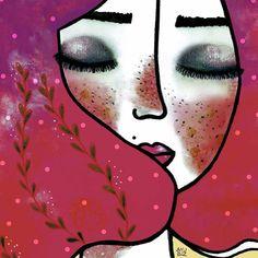 Lo más frustrante en el mundo es querer algo con todas tus fuerzas y aún así no conseguirlo 😣 P.D. No me rindo. #anuluz #illustration #ilustración #art #artwork #painting #contrast #vibrant #colorful #gallery #illustrator #illustrationartists #artists #portrait #instagood #instadraw #sketch #sketchbook #cute #venezuela #flia #drawing #drawingoftheday #noviembre #handmade #girl