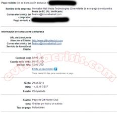 Recibido el tercer Pago de Gift Hunter Club http://evitalacrisis.com/comprobantes-de-pagos/recibido-el-tercer-pago-de-gift-hunter-club/