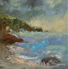 Buy Along the Shore, Oil painting by Julian Askins on Artfinder. Discover thousands of other original paintings, prints, sculptures and photography from independent artists.