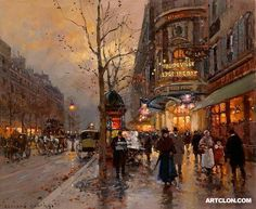 Edouard Leon Cortes painting. I wish I were in this painting.