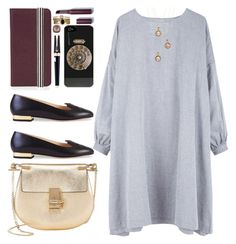 """""""OTD2: Back In Time"""" by bugatti-veyron ❤ liked on Polyvore featuring Henrik Vibskov, Charlotte Olympia, Chloé, Henri Bendel, Lionette, Laura Mercier, Montegrappa, Accessorize and Tacori"""