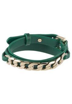 Dyrberg/Kern - CASTANI - Armband - grün/goldfarben