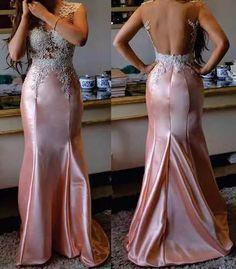Vestido De Festa Sereia - R$ 489,00