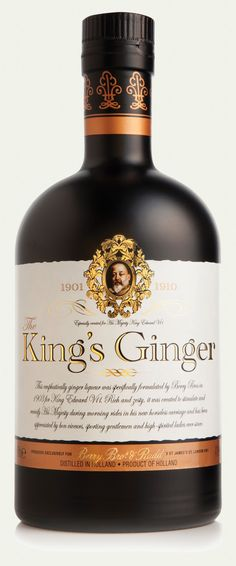 THE King's Ginger - a liqueur specifically formulated by Berry Bros. in 1903 for King Edward VII.