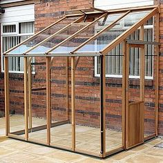 Greenhouse Plans 344806915221330482 - The Robinsons Lean to greenhouse is available in a choice of finishes and has box section framework, toughened glass and is available fron GBC Group. Source by ladydinde Greenhouse Kitchen, Lean To Greenhouse, Outdoor Greenhouse, Cheap Greenhouse, Greenhouse Plans, Greenhouse Gardening, Pergola Plans, Pergola Kits, Pallet Greenhouse