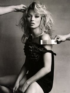 Kate Moss by Patrick Demarchelier - 2010