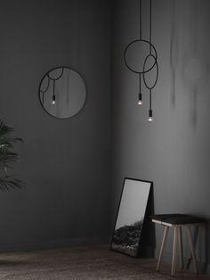Circle minimal und doch ausgefallen präsentiert sich diese skandinavische Pendelleuchte von Northern Lighting #design #leuchten Maker, Designer, Lighting, Scandinavian Design, Pendant, Minimal, Home Decor, Product Design, Creative