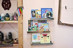Book Wall Reggio Emilia Inspired Preschool Art Studio Atelier Reggio Inspired Environments