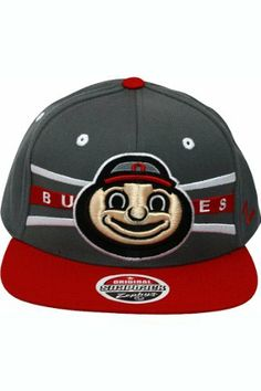 NCAA Ohio State Buckeyes Front Runner Snapback Cap, Medium Gray by Zephyr. $21.36. 65% Acrylic / 35% Wool. Memory visor. Officially licensed hat. Adjustable snapback hat. Zephyr snapbacks are constructed to meet the desires of the consumer. Zephyr hats feature professional embroidery and detailed raised logos. The Zephyr Memory Visors are constructed with the best materials allowing you to bend the brim or keep it flat.  About Zephyr Zephyr was established in 1993 by former ...