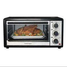 Hamilton Beach 31506 Compact CounterTop Convection 6 Slice/Broiler Toaster Oven
