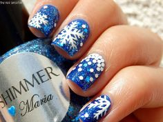 Maria Shimmer Nail polish  Blues (Light to Dark) Glitter Polish! 0.5 Fl. Oz. Bottle.  Please email me if you have other questions.  I have other