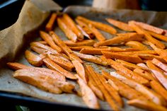 Sweet potato fries! My fave! <3