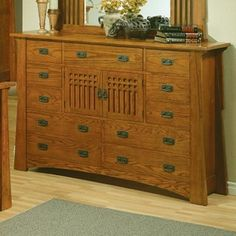 High Quality AYCA Furniture AP50611 Bungalow Eleven Drawer/Two Door Dresser