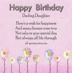 Daughter birthday cards my free printable cards printable happy birthday wishes for daughter card and images free birthday wishes for daughter pictures and messages photo bookmarktalkfo Choice Image