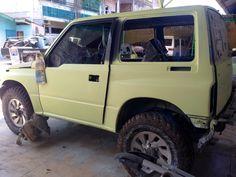 Suzuki vitara restorasi