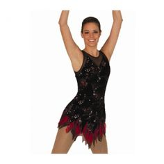 Ice Skating Dress Sleeveless Figure Skating Dresses For Women Adult Size Ice Skating Dress Sleeveless Affordable Skating Dress - $146.59