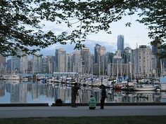 Downtown Vancouver, BC, Canada from Stanley Park (Photo by Lynda G.)