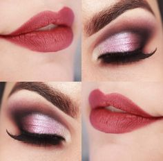 I love that pink smokey eye