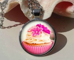Hey, I found this really awesome Etsy listing at https://www.etsy.com/listing/227933975/cupcake-pendant-cupcake-necklace-cupcake