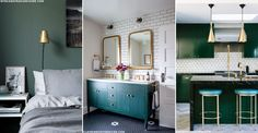 Whether rich, shimmering emeralds or soft dusky sages, green in any of its calming or vibrant tones is sure to add show-stopping drama to any space. From mixing and matching grassy colours with natural textures and metallics – think woodgrain, canvas, seagrass and copper – or offsetting luxe velvets and crisp white linens with a statement wall, we asked the experts at Little Greene how to use the oft-forgotten hue to lend any room in the house an on-trend finish…