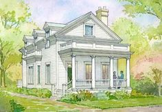 Beaufort Cottage - Allison Ramsey Architects, Inc. | Southern Living House Plans