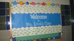 Classroom Tour - Beach/Ocean Themed Classroom