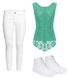 """""""Untitled #17"""" by katherinewlfc on Polyvore featuring H&M and Vans"""
