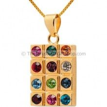 Hoshen pendant Gold Fill boxed - Christian Pendants - Christian Jewelry