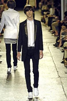 hedi slimane for dior homme