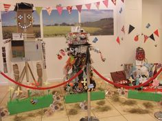 Recycled Scarecrow Exhibition.