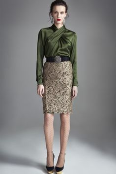 Temperley  London Pre-Fall 2012.  Photo courtesy of Temperley London.
