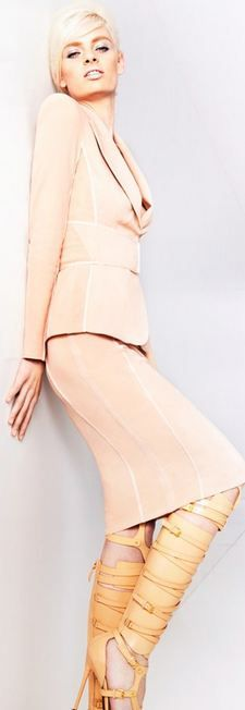 Tom Ford S/S 2013...it's all about that those strappy high heeled sandal/boots *sigh*
