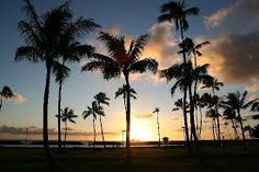 Sunset at Magic Island