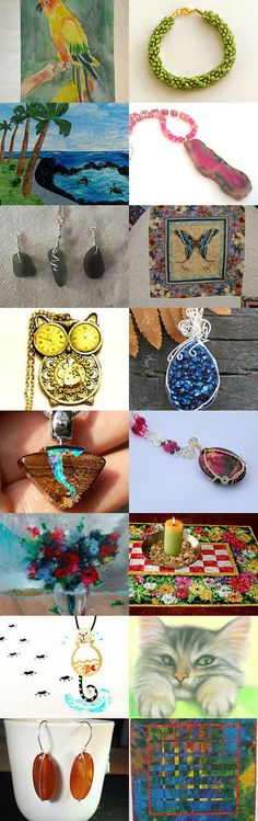 Waiting for Spring and Colors of Nature by Deana Pfaus on Etsy--Pinned with TreasuryPin.com