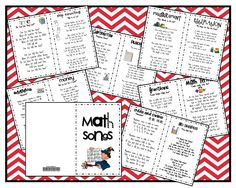 Math Songs - FREEBIE
