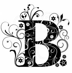 Letter Capital B, alphabet, arabic, art Fancy Letter B, Capital B, Initial Capital, Tattoo Painting, Fancy Fonts, Arabic Art, Vintage Typography, Alphabet And Numbers, Illuminated Letters