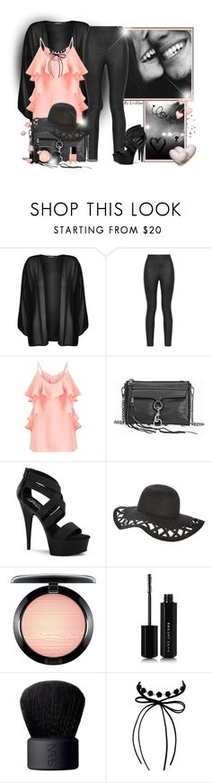 """~Love..you~"" by li-lilou ❤ liked on Polyvore featuring WearAll, Armani Jeans, Miss Selfridge, Rebecca Minkoff, Pleaser, MAC Cosmetics, Marc Jacobs, NARS Cosmetics and Erica Lyons"